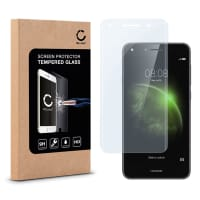 Screen protector glass for Huawei Y6 II / Y6 2 Compact - Tempered Glass (HD-Quality / 3D Full Cover / 0,33mm / 9H)