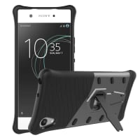 Back Cover for Sony Xperia XA1 - TPU, black Case