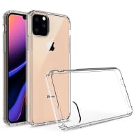 Backcover für Apple iPhone 11 Pro Max - Silikon, Transparent Tasche, Case, Etui, Hülle