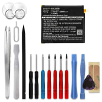 Akku für ASUS Zenfone 3 (ZE520KL) - C11P1601 (2500mAh) + Werkzeug-Set, Ersatzakku