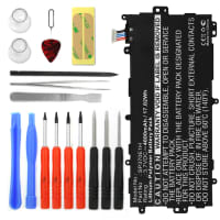 Battery for Samsung Galaxy Note 8.0 (GT-N5100/GT-N5110/GT-N5120) incl. Tool-kit - SP3770E1H (4600mAh) Replacement battery
