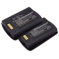 2x Batterie pour POLYCOM Spectralink 8400, 8450, 8452, RS657 - 1520-37214-001 (1200mAh) Batterie de remplacement