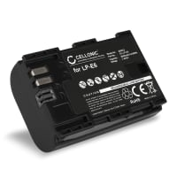 Battery for Canon EOS 5D, 6D, 60D, 7D, 70D, 80D, XC10, WFT E5, EFT E7 - LP-E6,LP-E6N (2000mAh) Replacement battery