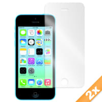 2x Protector de pantalla para Apple iPhone 5C (transparente)