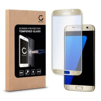 Panzerglas für Samsung Galaxy S7 Edge (SM-G935 / SM-G935F) - Tempered Glass (HD-Qualität / 3D Full Cover / 0,33mm / 9H)