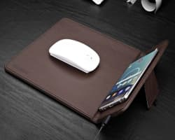 QI Charging Mouse Pad for QI Smartphones | Wireless Charging Spot