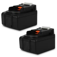 2x Battery 18V, 3Ah, Li-Ion for Makita BDF456RHJ, BSS610Z, DCL182Z, DHP453, DHP459RMJ, DUR181Z - BL1830, BL1840, BL1850 replacement battery