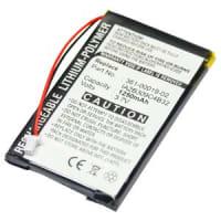 Batterij voor Garmin nüvi 300 300T, nüvi 310 310 Deluxe 310T, nüvi 350 350T, nüvi 360 360T, nüvi 370 - 010-00538-78,361-00019-02,361-00019-06,IA2B309C4B32 (1250mAh) vervangende accu