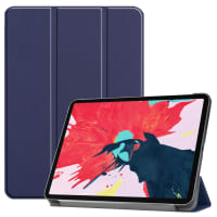 Smart Case for Apple iPad 11 (2020) - A2228, A2231 - synthetic Leather, Blue Case