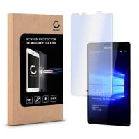 Protection d'écran en verre pour Microsoft Lumia 950 XL - Tempered Glass (Qualité HD / 2.5D / 0,33mm / 9H)