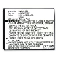 Battery for Samsung Galaxy 550 INNOV8 SGH-D780 SGH-G810 GT-i8510 SGH-P960 - (1000mAh) Replacement battery