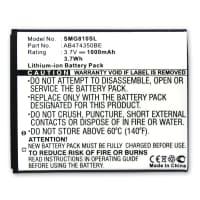 Batteria per Samsung Galaxy 550 INNOV8 SGH-D780 SGH-G810 GT-i8510 SGH-P960 - (1000mAh) batteria di ricambio