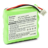 Battery for Crestron MT-500C MT-500C-RF TSU6010 (700mAh) MT-500C-BTP