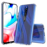 Back Cover for Xiaomi Redmi 8 / Redmi 8A - Silicone, Crystal Clear Case