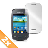 2x Displayschutzfolie für Samsung Galaxy Pocket Neo (GT-S5310) (transparent)