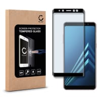 Panzerglas für Samsung Galaxy A8 (2018 - SM-A530) - Tempered Glass (HD-Qualität / 3D Full Cover / 0,33mm / 9H)