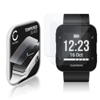 2x Näytönsuojat Lasi Garmin Forerunner 35 (2.5D, 9H, 0,33mm, Full Glue) Tempered Glass