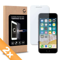 2x Cristal protector de la pantalla para iPhone 7 Plus / iPhone 8 Plus - Tempered Glass (Calidad HD / 2.5D / 0,33mm / 9H)