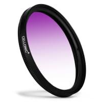 Filtre gradient couleur Violet pour Zeiss Batis / Distagon T / Makro-Planar T Ø 67mm