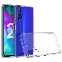 Back Cover for Huawei Nova 5T - Silicone, Crystal Clear Case