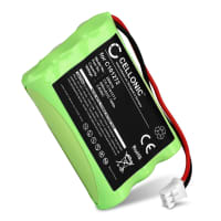 Batteria per Alcatel Altiset Easy / Pro / Vocal / DECT, Eole 450, Alcatel One Touch Class / Vocal, Ericsson DECT230, DT200 - C101272,CP15NM (600mAh) batteria di ricambio