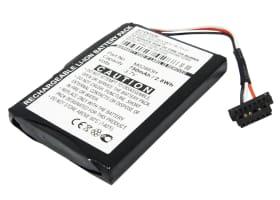 Batterij voor Mitac Mio Moov 500 Moov 510 Moov 560 Moov 580, Mitac Mio Spirit 6900 LM - 0781417XC,338040000014,338937010159,780914QN,M02883H,N393-5000 (750mAh) vervangende accu