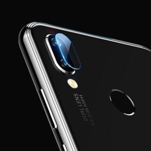 Vetro protettivo fotocamera Huawei P Smart 2019 (Pellicola protettiva , 9H, 0,33mm, Full Glue) Pellicola vetro temperato