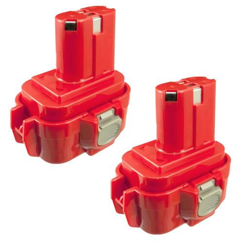 2x Batteria 9.6V, 3Ah, NiMH per Makita 6203D / 6204D / 6207D / 6222D / 6226D / 6260D / 6261D / 6503D / 6702D - 9100, 9120 batteria di ricambio