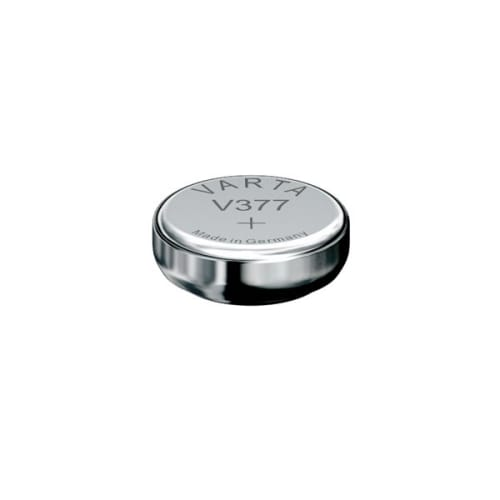 Uhrenbatterie Varta V377 SR66 / SR626SW 377 (x1) Knopfbatterie Knopfzelle Zellenbatterie