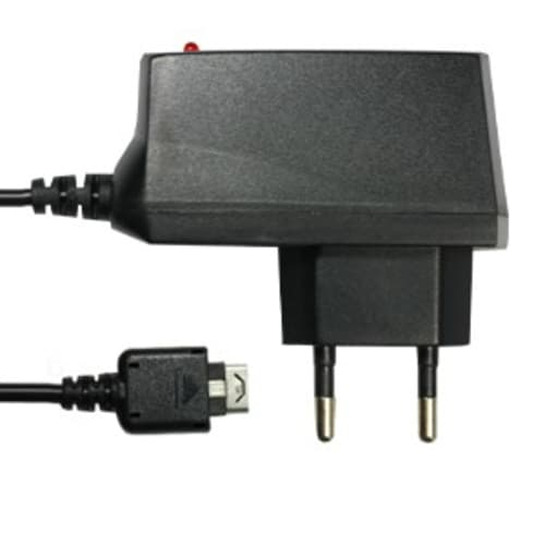 Ladegerät für LG KU990 Viewty / KF600 Venus / KE770 Shine / KC550 Orsay / KC910 Renoir / KG320s / KU311 - 1.4m (0.5A / 500mA) Ladekabel Netzteil