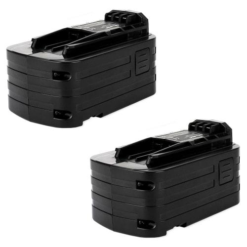 2x Batterie 18V, 4Ah, Li-Ion pour FESTOOL PDC 18/4 Li, BHC 18 Li, ISC 240 - BPC 18 Li, 498343, 499849 batterie de remplacement