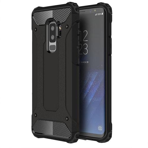 Case for Samsung Galaxy S9 Plus (SM-G965) - Plastic, Black Case