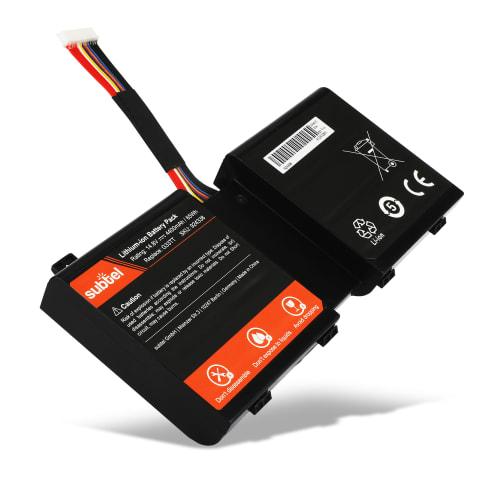 Battery for Alienware M17X R5 / Alienware M18X R3 - G33TT (4400mAh) Replacement battery