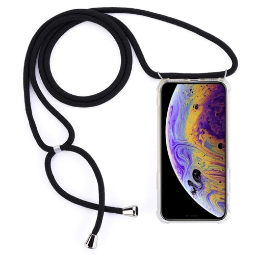 Collana per Apple iPhone 11 Pro - Silicone, Trasparente Custodia, Borsa, Guscio