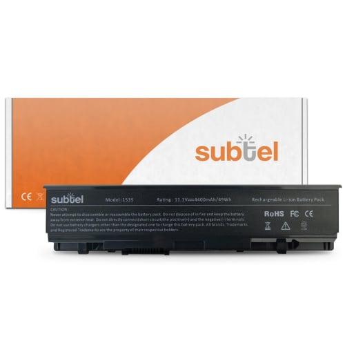 Batterie pour Dell Studio 15 (1535) / Studio 1536 / Studio 15 (1537) / Studio 1555 / Studio 1557 / Studio 1558 - WU965 (4400mAh) Batterie de remplacement