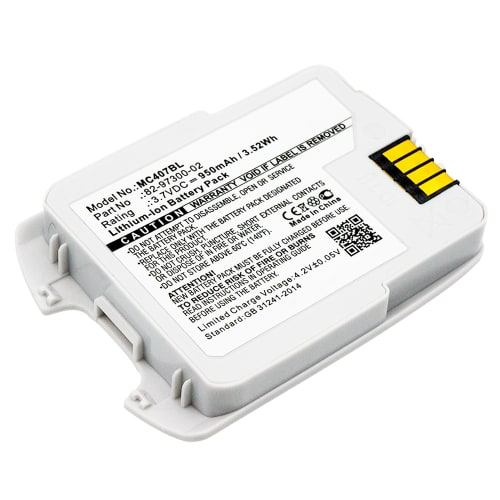 Batteria per Motorola Symbol CS 4070 CS 4070-SR Motorola Symbol CS4070 CS4070-SR - 82-97300-02BTRY-CS40EAB00-04 (950mAh) batteria di ricambio
