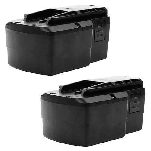 2x Batterie 15.6V, 3Ah, NiMH pour FESTOOL TDK 15.6 - BPS 15.6 batterie de remplacement