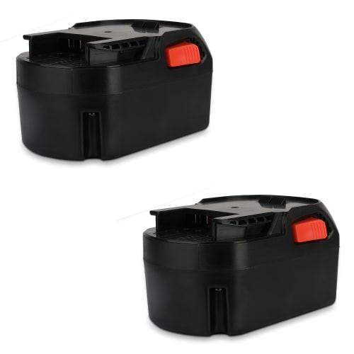 2x Batterie 14.4V, 3Ah, Li-Ion pour AEG BS 14 C, BS 14 G2, BSB 14 C, BSB 14 G2 - L1414R, L1415, L1420R, L1430R batterie de remplacement