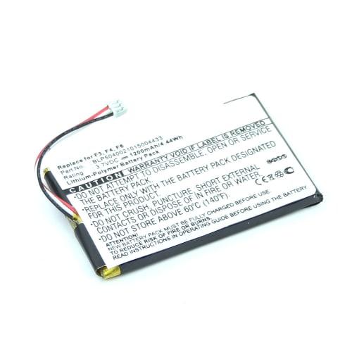 Battery for Falk F3 Falk F4 Falk F6 (1200mAh) BLP5040021015004433