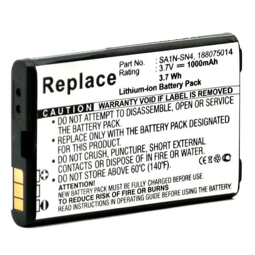 Batterie pour Sagem myV-65 / myV-75 / myX-6 / myX-7  (1000mAh) SA1N-SN4,SALA-SN2