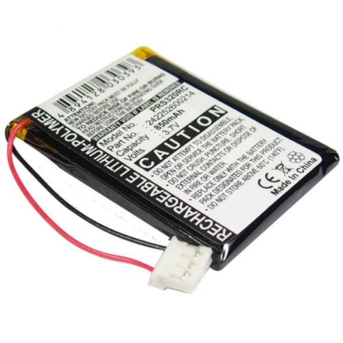 Batterij voor Philips Prestigo SRT9320/10, Philips 2577744, Philips 2669577, Philips SRT9320/10 - 242252600214 (850mAh) vervangende accu