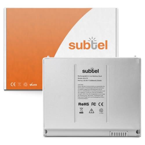 Batterie pour MacBook Pro 15 - A1150 / A1211 / A1226 / A1260 (2006 - 2008) - A1175 (5000mAh) Batterie de remplacement