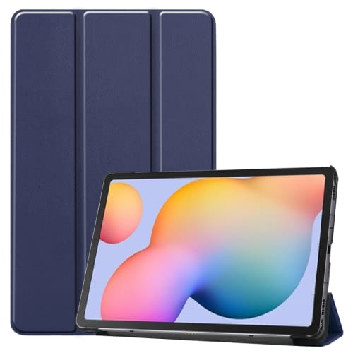 Case for Samsung Galaxy Tab S6 Lite (SM-P610 / SM-P615) - synthetic Leather, Blue Case