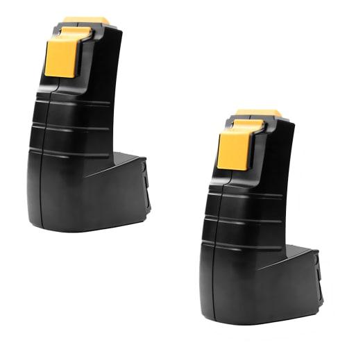 2x Batterie 9.6V, 3Ah, NiMH pour FESTOOL CDD 9.6 FESTOOL CDD 9.6 ES FESTOOL CDD 9.6 FX - BPH 9.6 C (488437) batterie de remplacement