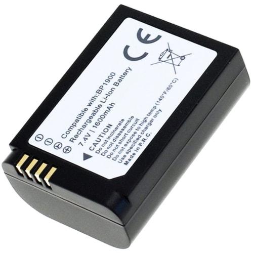 Batterij voor Samsung NX1 Smart Camera - Samsung BP1900 (1600mAh) vervangende accu