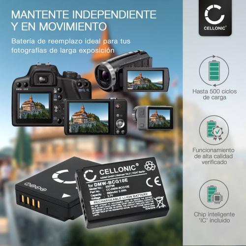 6x Panasonic Lumix DMC-TZ8 Protector Pantalla Pelicula Protectora Transparente