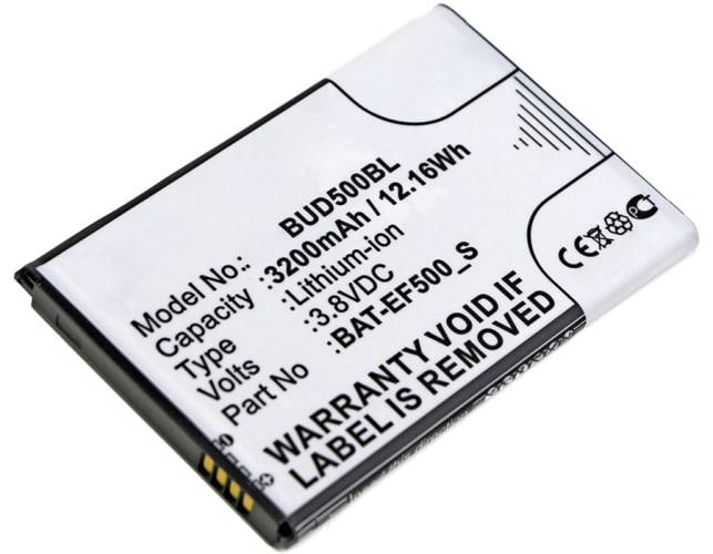 Batterie pour Bluebird EF500r - BAT-EF500_S (3200mAh) Batterie de remplacement