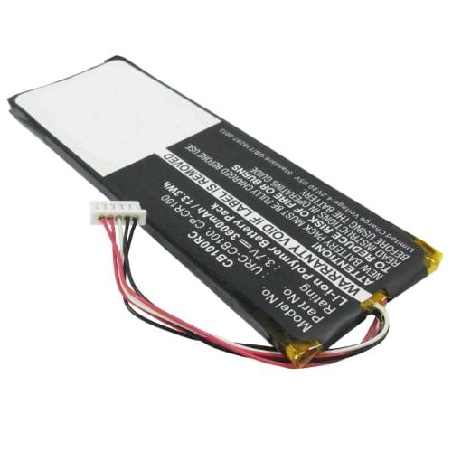 Batterij voor Sonos Controller CB100 Sonos Controller CR100 - Sonos CP-CR100, Sonos URC-CB100 (3600mAh) vervangende accu