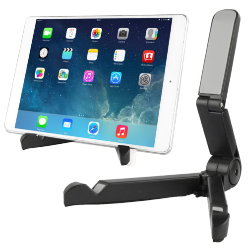 Tablet stand for tablets, smartphones (5.0 - 10.1