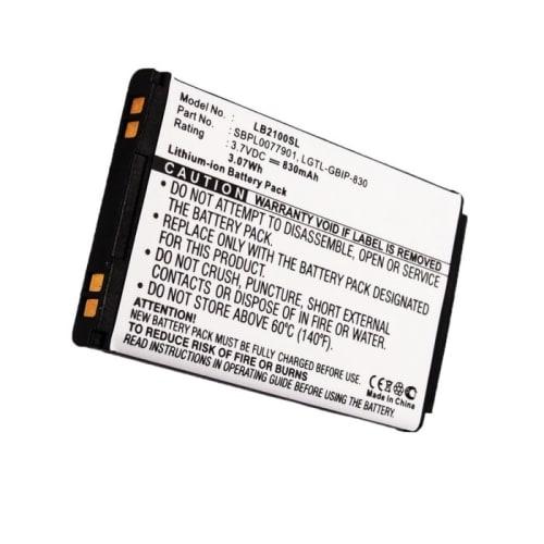 Batterie pour LG KG240 KP202 B2000 B2250 KG110 KG290 (830mAh) LGTL-GBIP-830